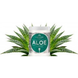 Kallos maska Aloe Vera - Kallos Aloe Vera Moisture Repair Shine Hair Mask