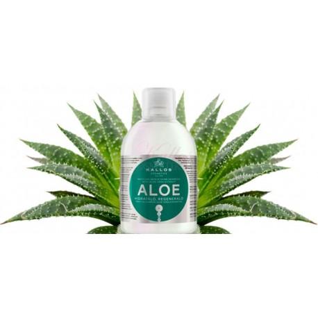 Kallos Aloe Vera Moisture Repair Shine Shampoo - Kallos šampon Aloe Vera