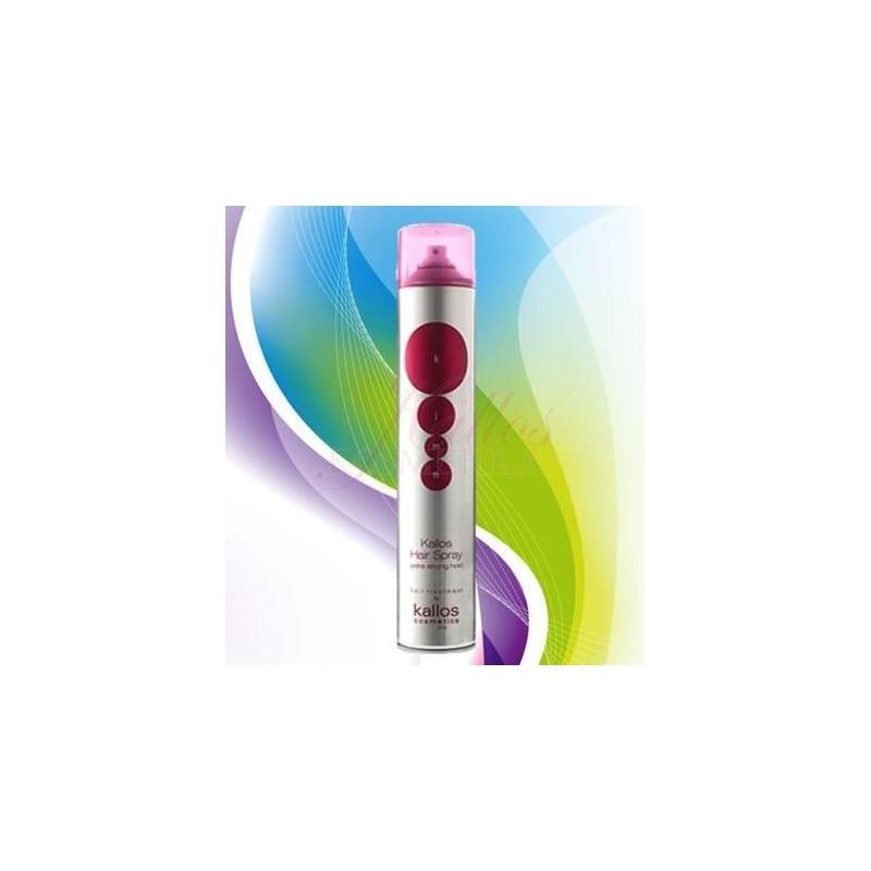 Kallos KJMN Lak na vlasy 500 ml - KJMN Extra Strong Hold Hair Spray 389917fdd8c