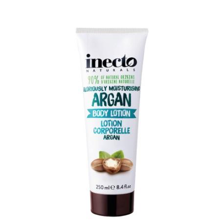 Inecto tělové mléko s čistým arganovým olejem 250 ml