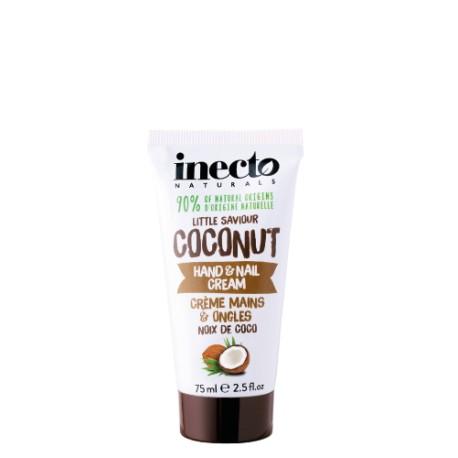 Inecto krém na ruce a nehty s čistým kokosovým olejem 75 ml