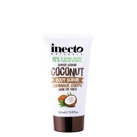 Inecto tělový peeling s čistým kokosovým olejem 150 ml