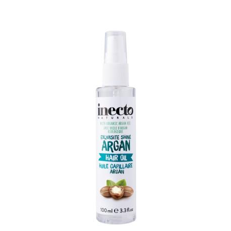 Inecto vlasový olej s čistým arganovým olejem 100 ml
