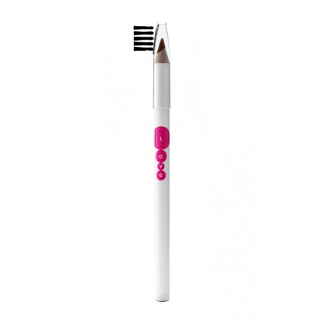 Kallos Love tužka na obočí 03 (Tmavě hnědá)  - Kallos Love Eyebrow Pencil