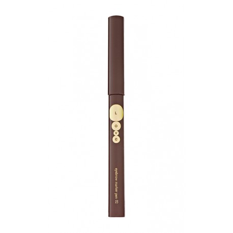 Kallos Love tekutá tužka na obočí 02 5 ml - Kallos Love Eyebrow Marker Pen