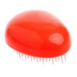 Hřeben na vlasy vajíčko červenooranžový