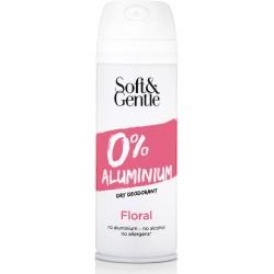 Soft & Gentle Floral Dry Deodorant ve spreji bez obsahu hliníku a alkoholu 150 ml