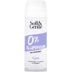 Soft & Gentle Care Dry Deodorant ve spreji bez obsahu hliníku a alkoholu 150 ml