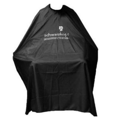 Kadeřnická pláštěnka černá