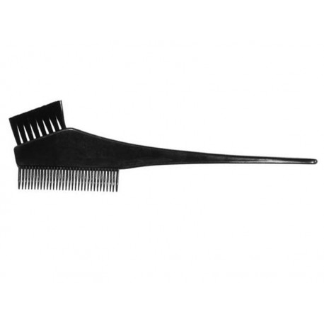 Duko barvící štětec na vlasy s hřebínkem