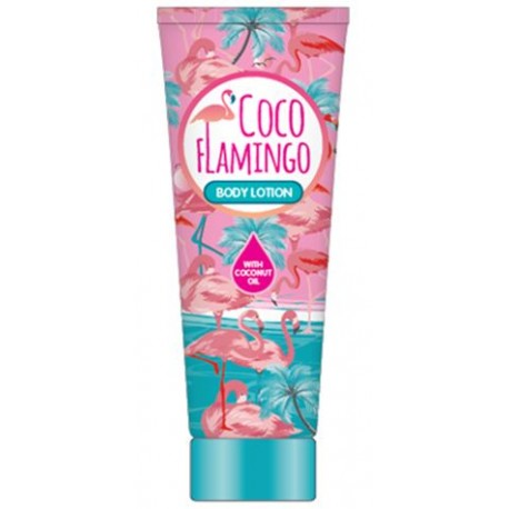 Inecto Flamingo tělové mléko s čistým kokosovým olejem 250 ml