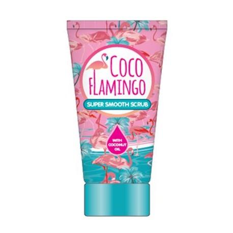 Inecto Flamingo tělový peeling s čistým kokosovým olejem 150 ml