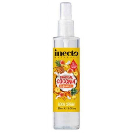Inecto tělový sprej Tropical 150 ml - Inecto Infusion Body Spray Tropical Coconut