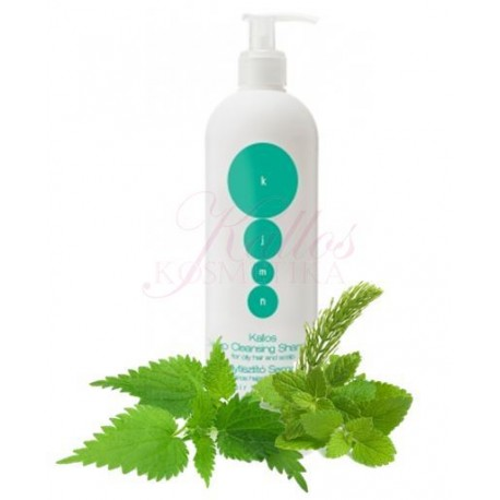 Kallos Deep-cleansing Shampoo for oily hair and scalp - Kallos hloubkově čistící šampon pro mastné vlasy