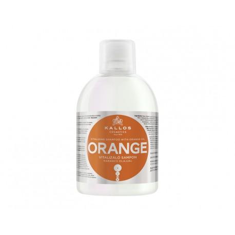 Kallos Šampon Pomeranč 1000 ml - Kallos Orange Vitalizing Shampoo With Orange Oil