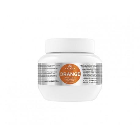 Kallos Maska Pomeranč 275 ml - Kallos Orange Vitalizing Mask With Orange Oil