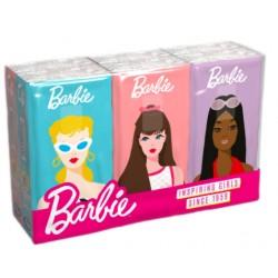 Kapesníky Barbie s potiskem 4 vrstvé