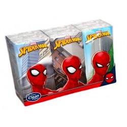 Kapesníky Spiderman s potiskem 4 vrstvé