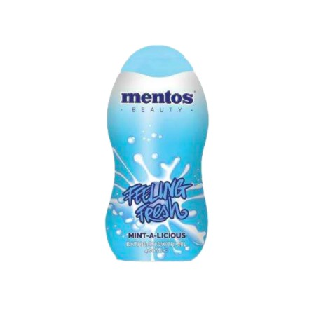 Mentos pěna do koupele a sprchový gel Mint -a-licious 400 ml