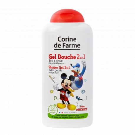 Sprchový gel & šampon 2v1 Disney, Mickey - 250 ml