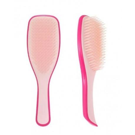 Hřeben na vlasy růžovočervený 22 cm