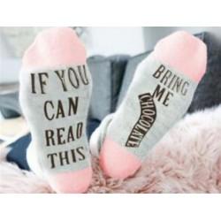 Ponožky jestli tohle čteš, přines mi čokoládu