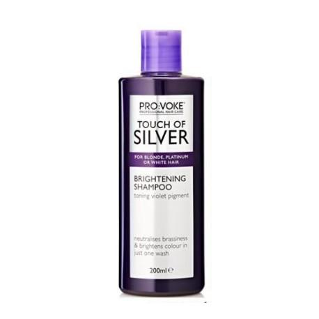 Intenzivní šampon pro odstranění žlutých odstínů z vlasů 200 ml - Touch of silver