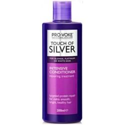 Intenzivní kondicionér pro odstranění žlutých odstínů z vlasů 200 ml - Touch of silver