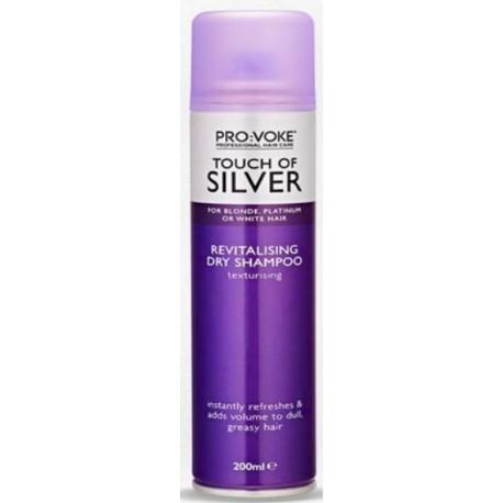 Suchý šampon s fialovým pigmentem - Touch of Silver - 200ml