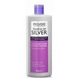 Provoke Intenzivní kondicionér pro odstranění žlutých odstínů z vlasů 400 ml - Touch of silver