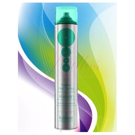 Kallos Keratin Hair spray Extra strong - Kallos Keratin Lak na vlasy
