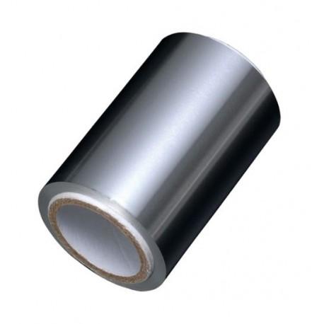 Stříbrný kadeřnický alobal  50 m 9 micro - slabý