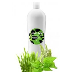 Kallos šampon Lemon Balm hloubkově čistící šampon na mastné vlasy -  Kallos Lemon Balm Deep - Cleaning Shampoo