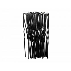 Duko vlásenky černé 6,5 cm , 20 ks