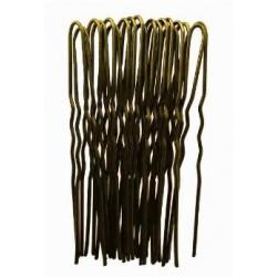 Duko vlásenky zlaté 6,5 cm , 20 ks