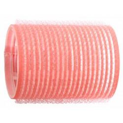 Duko natáčky na vlasy Velcro průměr 44 mm - 6 ks růžová
