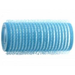 Duko natáčky na vlasy Velcro průměr 25 mm - 6 ks modrá